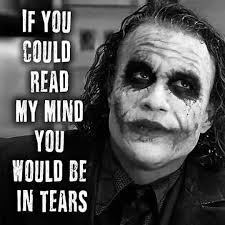 image contain person text joker quotes