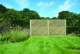 Straight Top Privacy Trellis Panels Oakdale Fencing