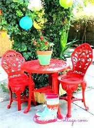 painting patio furniture ideas