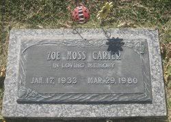 Iva Zoe Moss Carter (1933-1980) - Find A Grave Memorial