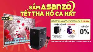 Điện Máy Xanh Cẩm Tây - Cẩm Phả - Đặt trước Smart TV Asanzo 43 ...