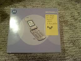Motorola T720 Verizon phone ...