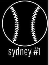 90 Softball Decals Ideas Softball Decals Softball Decals