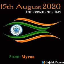 15th august 2020 Swatantrata Diwas myrna | independence day - September 2020