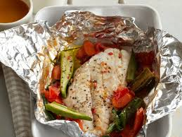 Steamed Red Snapper Packets Recipe ...