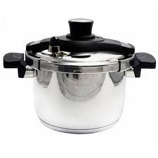 Nồi áp suất inox living cook 5.8L inox, dùng bếp từ