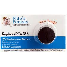 5 Pack Dog Collar Battery Replacement For Rfa 188