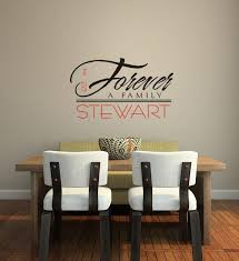 Forever A Family Vinyl Decal Home Wall Decor