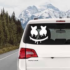 New Arrivals Dripping Marshmello Edm Dj Vinyl Decal Car Laptop Truck Bumper Window Decor Decals Car Stickers L817 Car Stickers Aliexpress