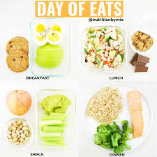 plan your daily eats during busy weeks