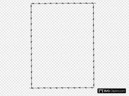 Revans Barbed Wire Border Svg Vector Revans Barbed Wire Border Clip Art Svg Clipart