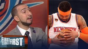 Carmelo Anthony traded to the Thunder: 'Hell Yes' it makes them a contender  | FIRST THINGS FIRST - YouTube