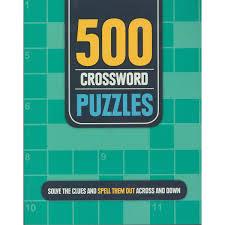 500 crossword puzzles big w