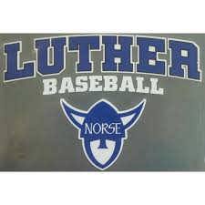 Baseball Decal Luther Book Shop