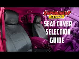 universal seat cover size guide