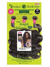 brazilian unprocessed hair 13x4 temple