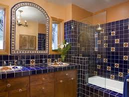 to decorate your bathroom in mexican style
