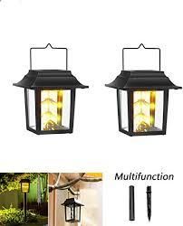 solar lanterns lights with 45 warm