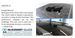 client testimonials mckinney glass