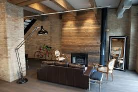 gas fireplace for rustic living room