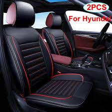 2pcs black universal car seat cover