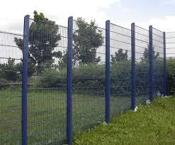 Dual Guard Wire Mesh Perimeter Fencing System Zaun Esi External Works