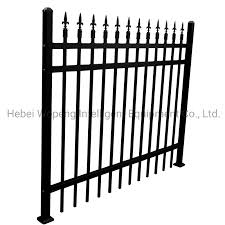 China Residential Aluminum Fence Black Metal Fence Steel Fence Wrought Iron Fence Panel Photos Pictures Made In China Com