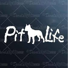Cool New Pit Life Truck And Car Stickers