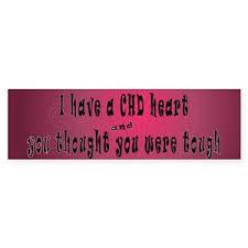 Chd Awareness Bumper Stickers Cafepress