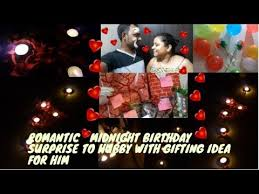 surprise romantic midnight birthday
