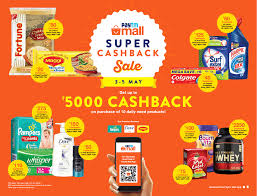 paytm mall super cashback ad