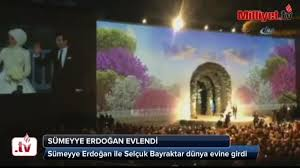 Sümeyye Erdoğan evlendi - Haberler Haberleri