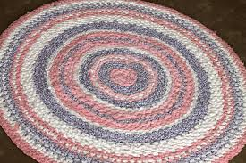 how to crochet a rug rag from old sheets