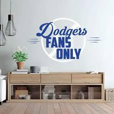 Los Angeles Dodgers Wall Decal Vinyl Decor Wall Decal Customvinyldecor Com