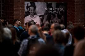 Thousands pay respects to water polo legend Benedek at Margaret ...