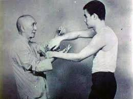 This rare footage shows Ip Man, the Chinese martial artist &Bruce Lee's  master