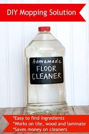 22 frugal diy homemade floor cleaners