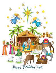 Nativity Window Clings Colonel Pickles Novelties