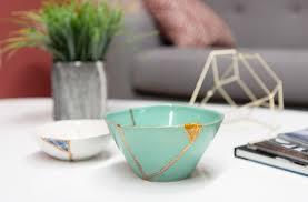 kintsugi pottery the art of repairing