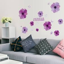 Wall Decals Purple Wall Stickers Sale Price Reviews Gearbest