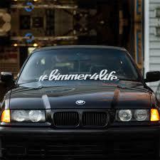 Bimmer4life Windshield Sticker