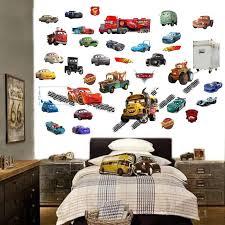 Disney Cars 3 Wall Stickers Mcqueen 3d Boys Girls Bedroom Etsy