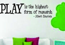 Mobel Wohnen Play Is The Highest Form Of Research Albert Einstein Vinyl Wall Decal 5 X38 Maybrands Com Ng