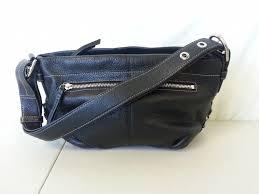 coach black leather purse 15065