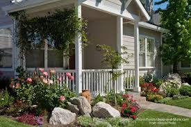 rocks around your porch