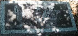 Iva Theresa Robinson Kendall (1911-2002) - Find A Grave Memorial