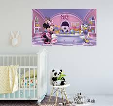 Minnie Mouse Daisy Duck Wall Stickers Kids Vinyl Print Poster Art Mural Decal Ebay