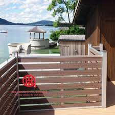 Semi Private Fence Modern Garden Fencing Eee Housing Decorative Fences