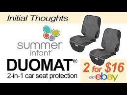 summer infant duomat seat protectors