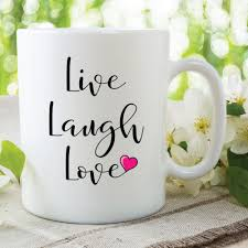 Live Laugh Love Quote Coffee Mugs Cups Home Decal Wine Mugen Whiskey Beer Ceramic Mug Ceramic Mug Coffee Mugcoffee Mug Cup Aliexpress